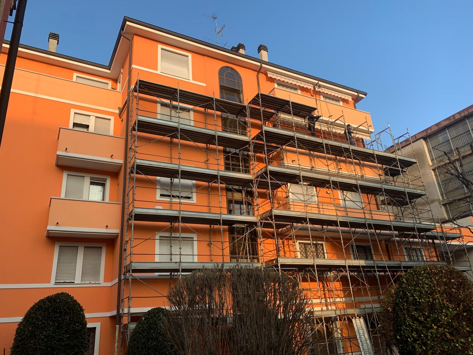 Servizio di restauro facciate condominio Sassuolo